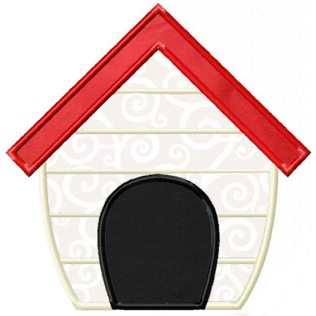 Dog House Applique projeto