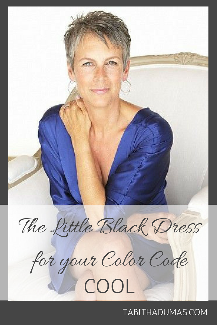 The best little black dress for your color code   Color Codes:: Cool