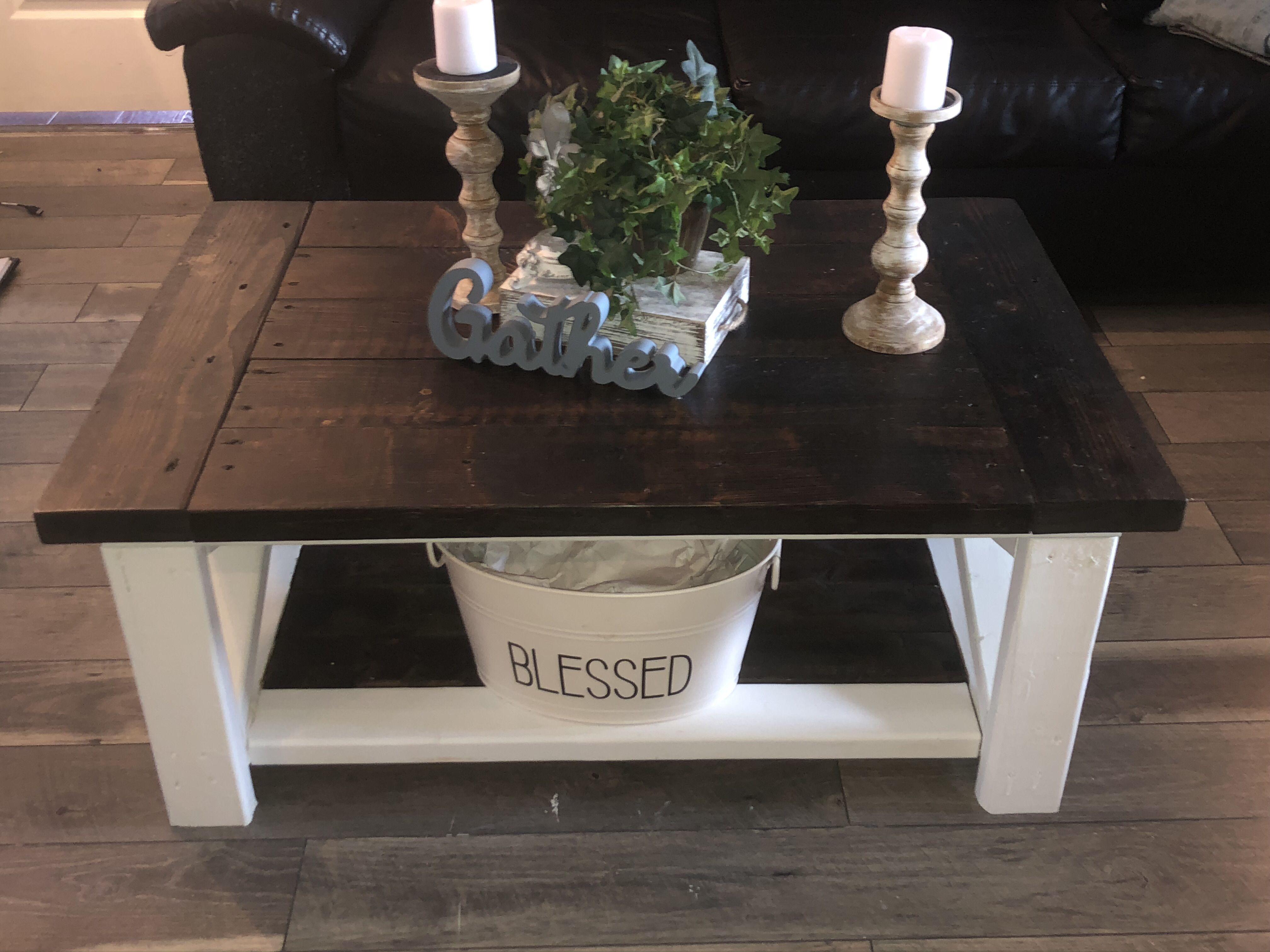 Diy wood coffee table distressed table coffee table