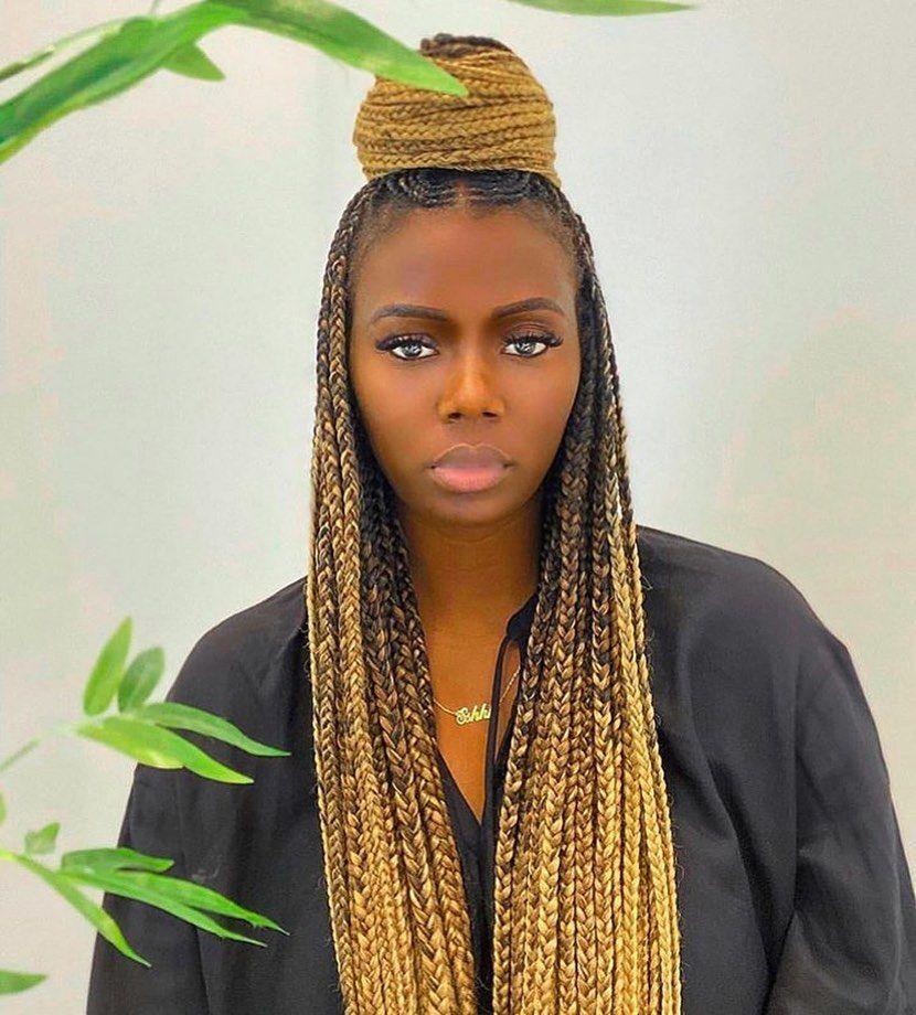442 Likes 4 Comments Nigerian Braids Gang Nigerianbraidsgang On Instagram Ombre Braids Thebraidingv Ombre Braid Short Bob Hairstyles Hair Styles