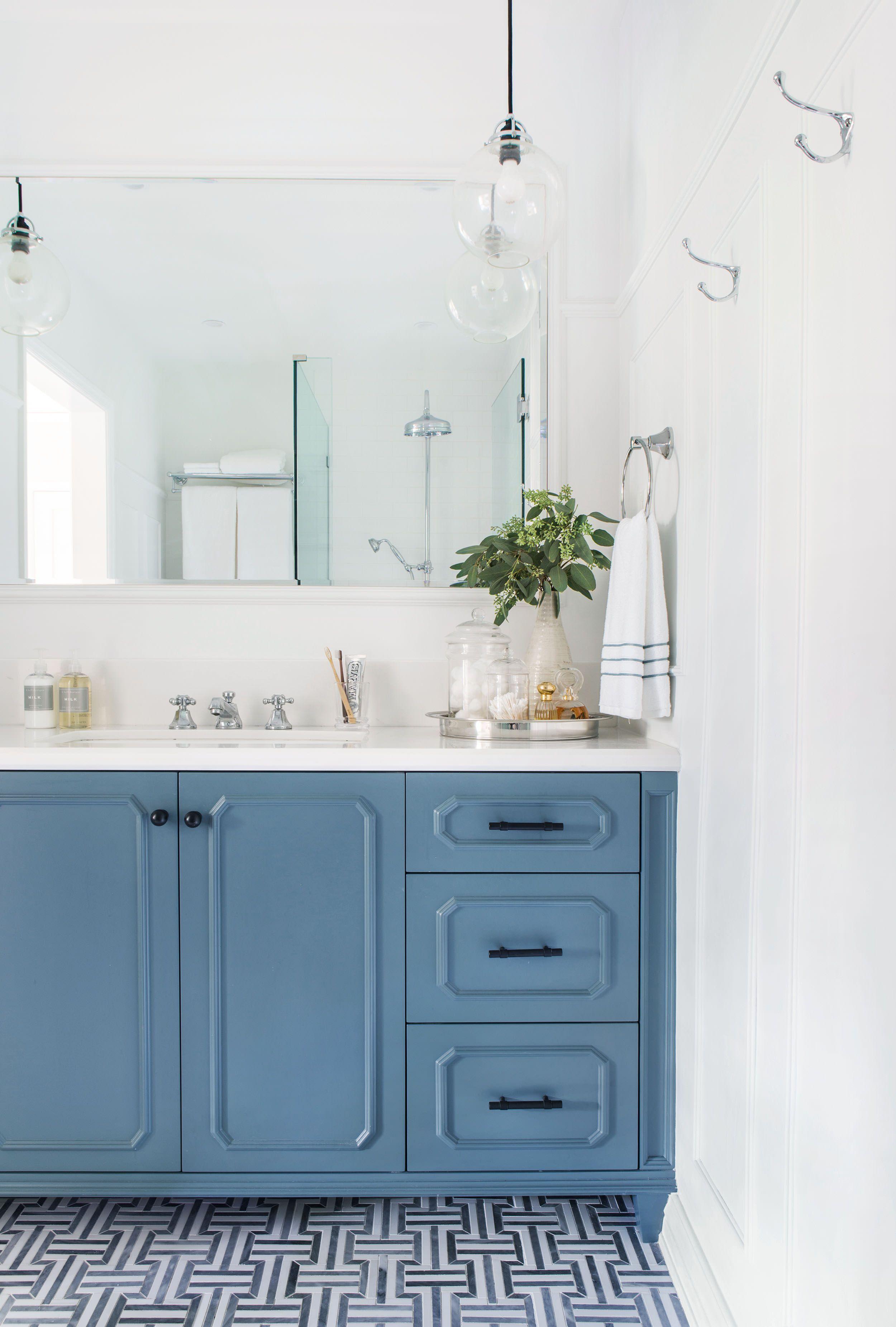 Silver Lake Hills Master Bath Reveal (Emily Henderson) | Pinterest ...