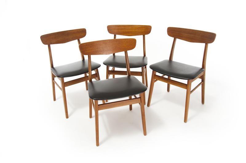 Mid-Century Modern Danish Dining Chairs   mid century ...