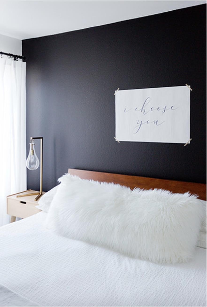 Master Bedroom Wall Art Master Bedroom Decor I Choose You Print