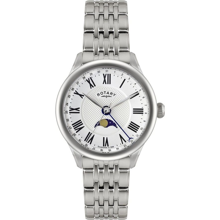 201ff8b0e3d Rotary Men's Beaumont Collection Watch (GB02849/01) Bracelet Watch, Fathers  Day,