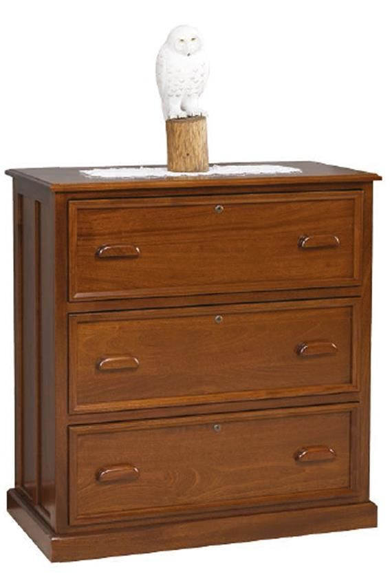 Amish 3 Drawer Contemporary Lateral File Cabinet Lateral File Cabinet Filing Cabinet Cabinets To Go