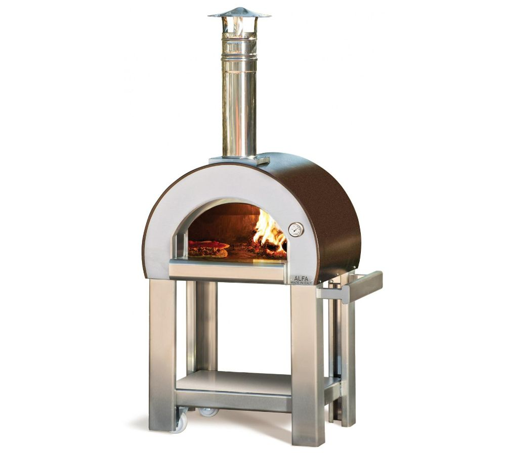 Alfa Pizza - Forno a legna da esterno 5 MINUTI | BARBECUE ...