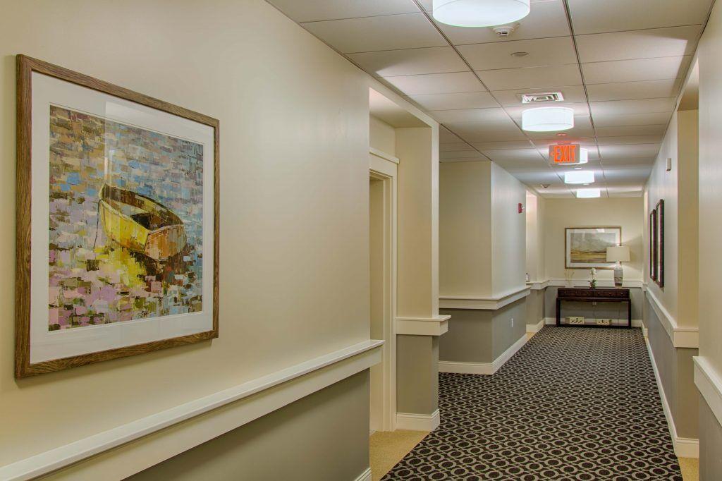 Senior Living Resident Hallway