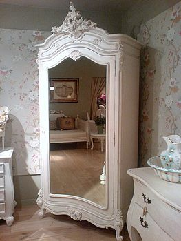 White French Armoire