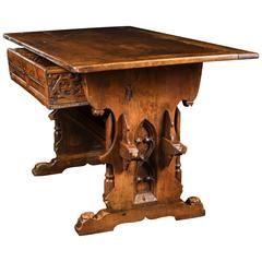 Rare Gothic Swiss German Table