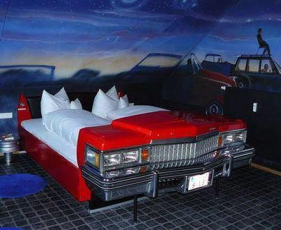 Bed Made Out Of Car Frame Bedrooms Ii Automotive Decor