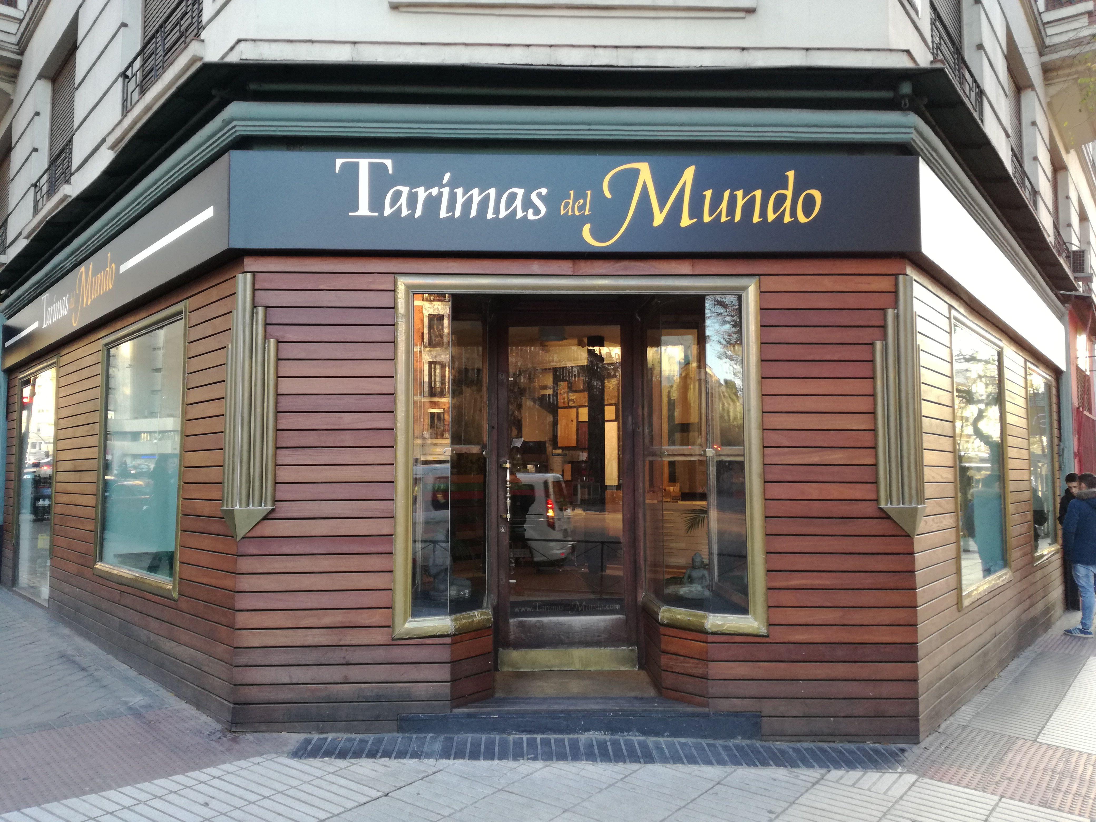Entrada de esquina, Tarimas del Mundo, (Madrid). Diciembre 2016 ...