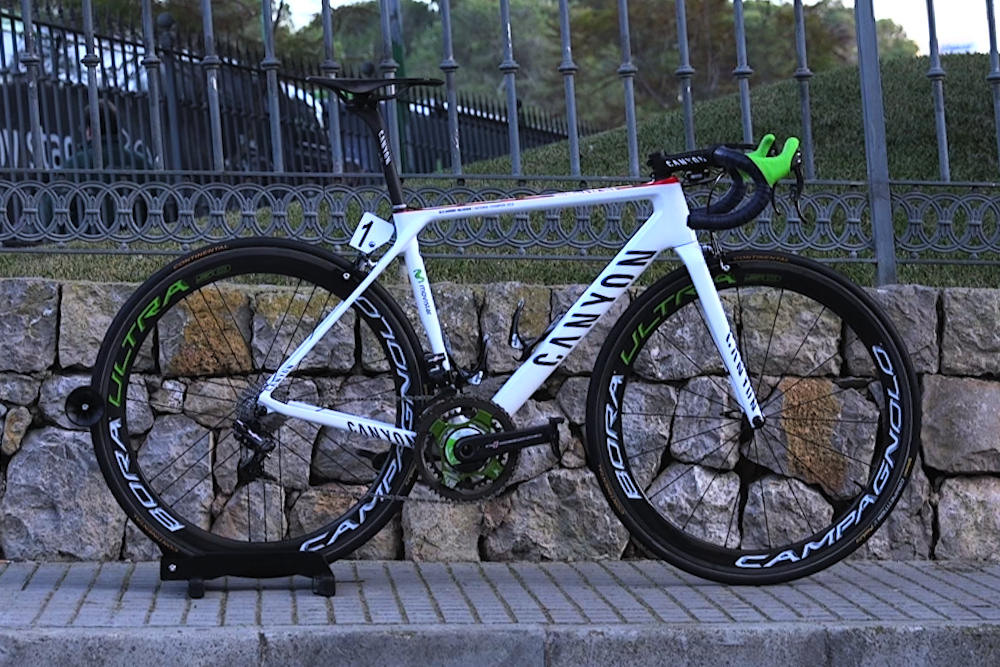 c4746863ce7 Alejandro Valverde's custom Canyon Ultimate CF SLX — Cycling Weekly ...