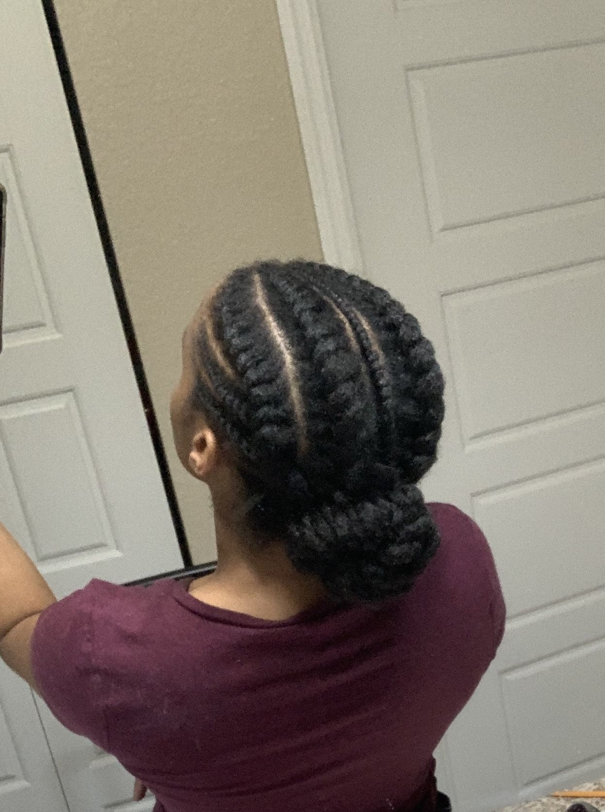 #4chair #naturalhair #naturalhairstyles #protectivehairstyles
