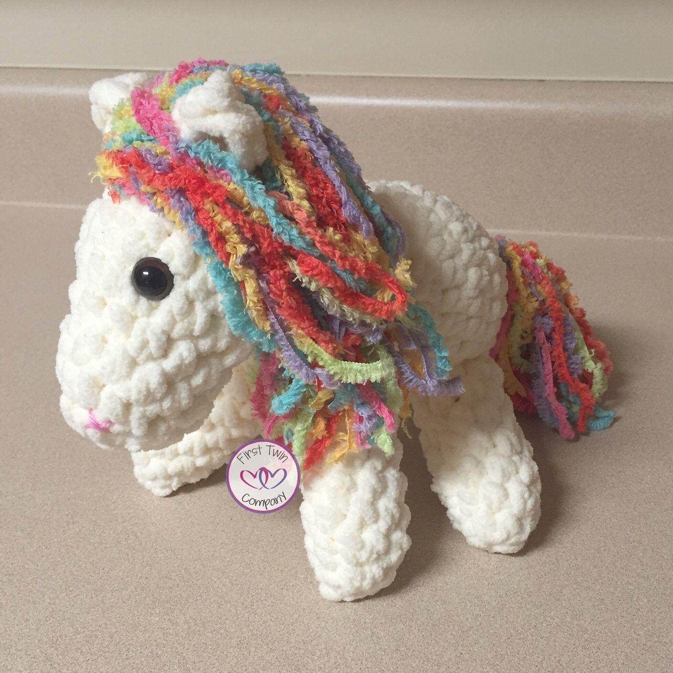 Pony crocheted horse 55