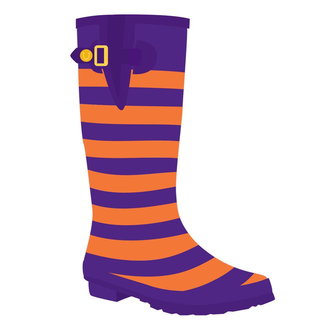Women's Clemson Tigers Striped ... Boot Slippers 2014 for sale shopping online for sale for sale authentic online geniue stockist IvF0GtGm