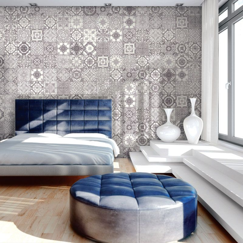 Dazzling Morroccan Inspired Tiles With Intricate Patterns And Rich Colors Marrakesh Is Available In G Contemporary Bedroom Design Bedroom Design Bedroom Sets