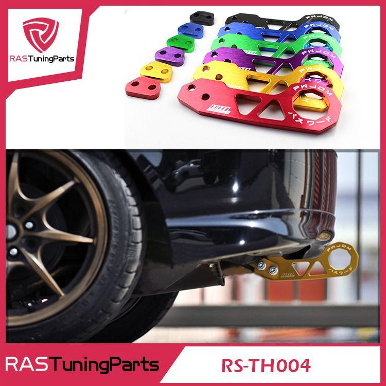 Jdm stil racing hinten abschlepphaken aluminiumlegierung hinten abschlepphaken für honda civic rs-th004