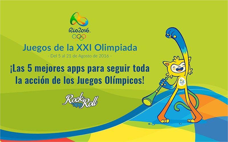 Las mejores Apps para seguir los Juegos Olímpicos de Río 2016