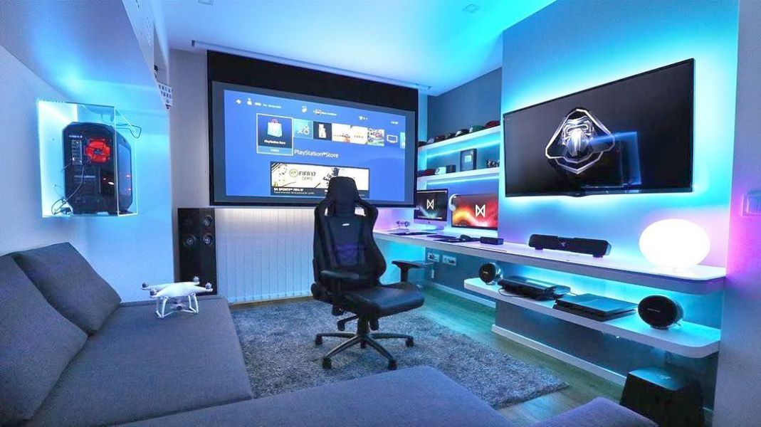 Newtechnologyblog Info Computer Gaming Room Video Game Room Design Video Game Rooms