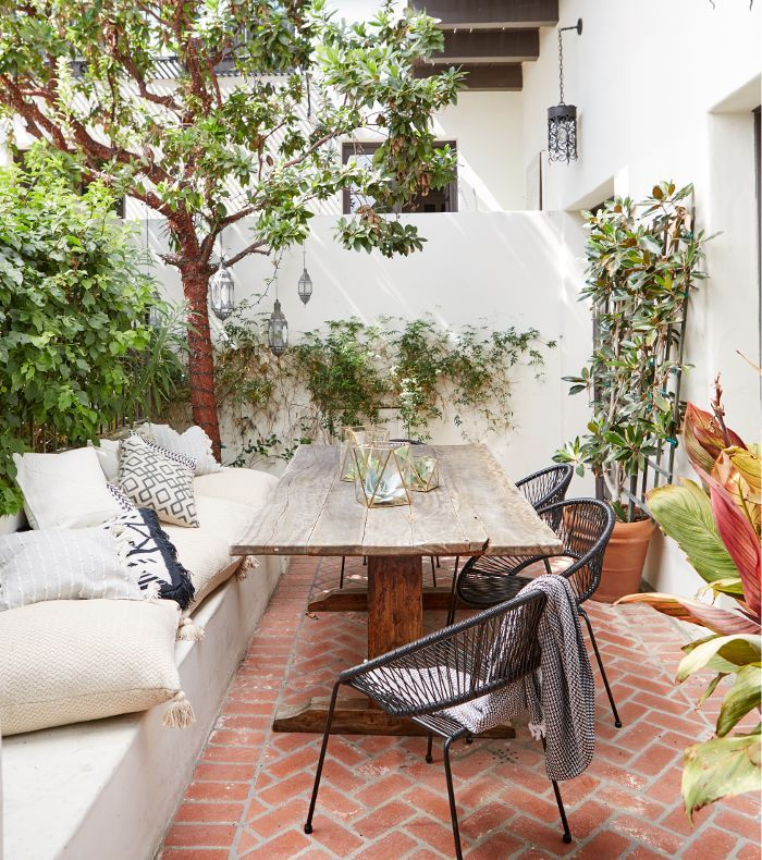 Get A Sneak Peek Of Actress Shay Mitchellu0027s New Moroccan Inspired Patio.