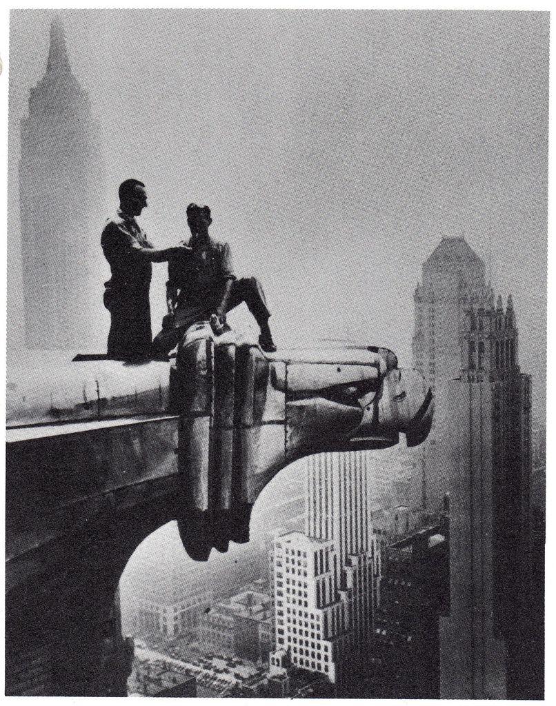 Gigantic Art Deco Eagles That Flank As Gargoyles The Base Of The