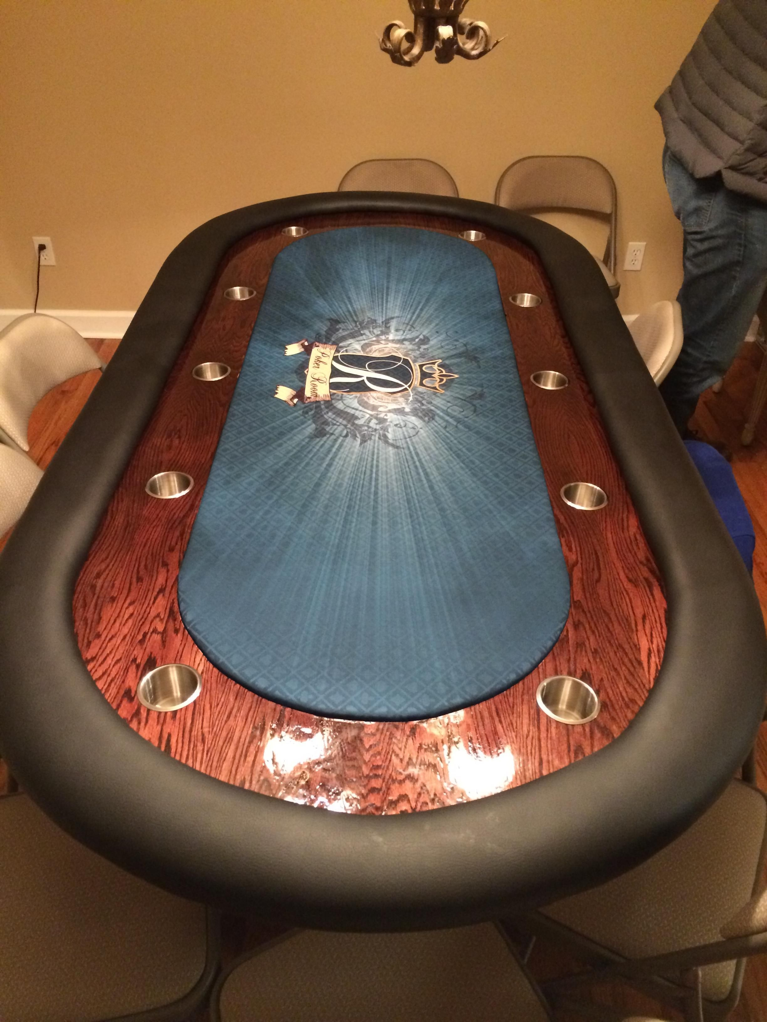 Poker Table Build Quickcrafter Poker Table Diy Poker