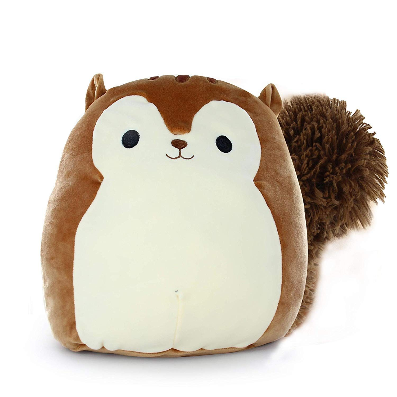 Squishmallow Kellytoy 16 Sawyer The Squirrel Super Soft Plush Toy Pillow Pet Animal Pillow Pal Buddy Stuff Animal Pillows Cute Stuffed Animals Cute Squishies [ 1500 x 1500 Pixel ]