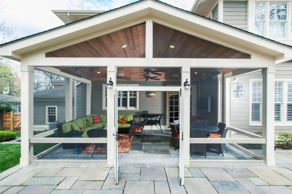 Screened In Porch Cost How Long Does It Take A Deck Contractor To Build 2018