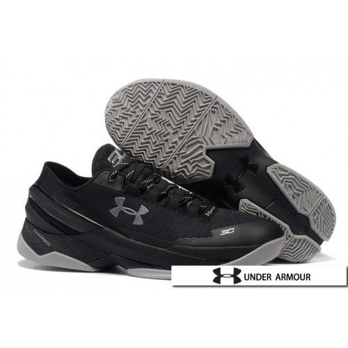 1890c21abba3 UA Curry 2 Low Shoes - Under Armour UA Curry 2 Low Black Grey Basketball  Shoes