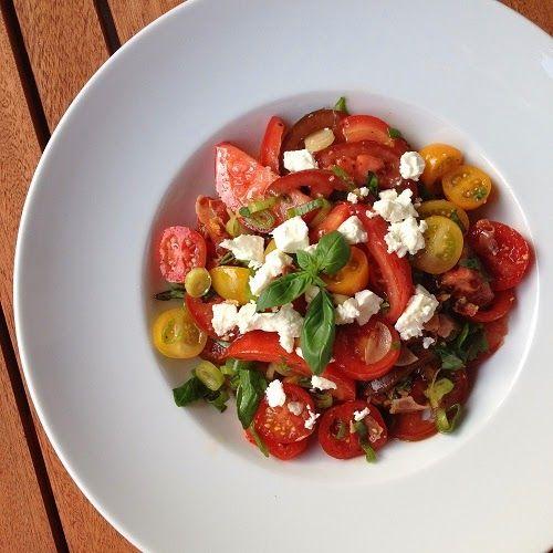 tomatensalat nach jamie oliver interessantes von food. Black Bedroom Furniture Sets. Home Design Ideas