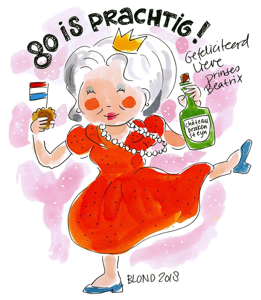 Top Hoera! Prinses Beatrix 80 jaar! | Blond Amsterdam - Special Days  @YE21