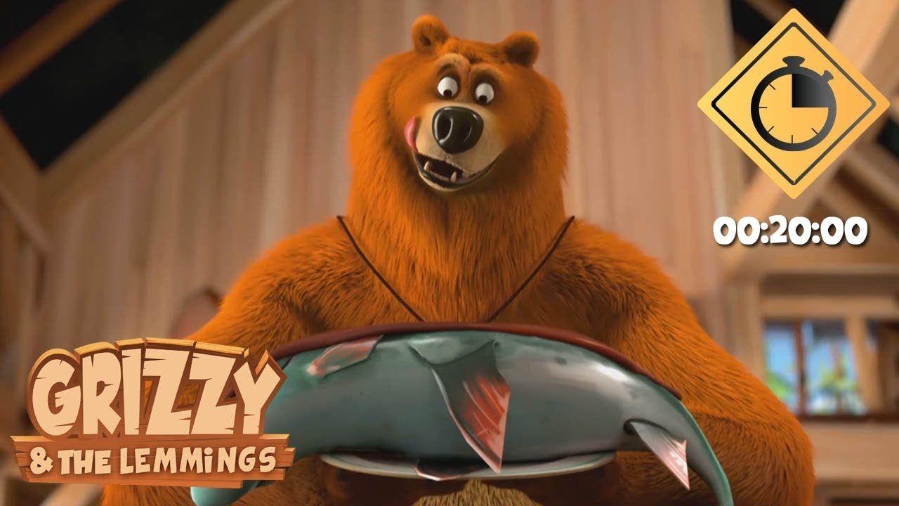 20 Minutes De Grizzy Les Lemmings Compilation 07 Grizzy Les Lemmings Youtube In 2020 Grizzly Bear Lemming Grizzly