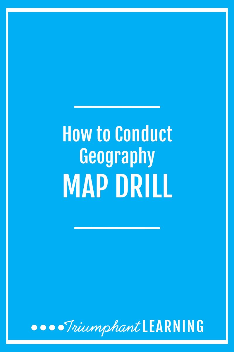 How To Conduct Geography Map Drill | Pinterest | Homeschool ...