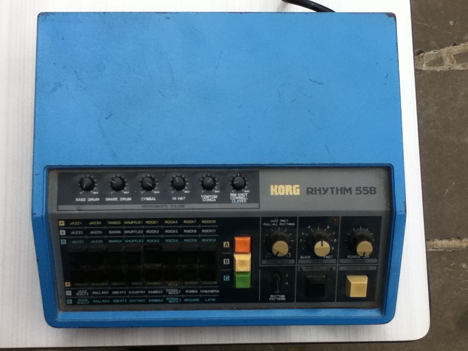 Korg Rhythm 55B for trade or sale. Check the link to my ad on Audiofanzine.fr