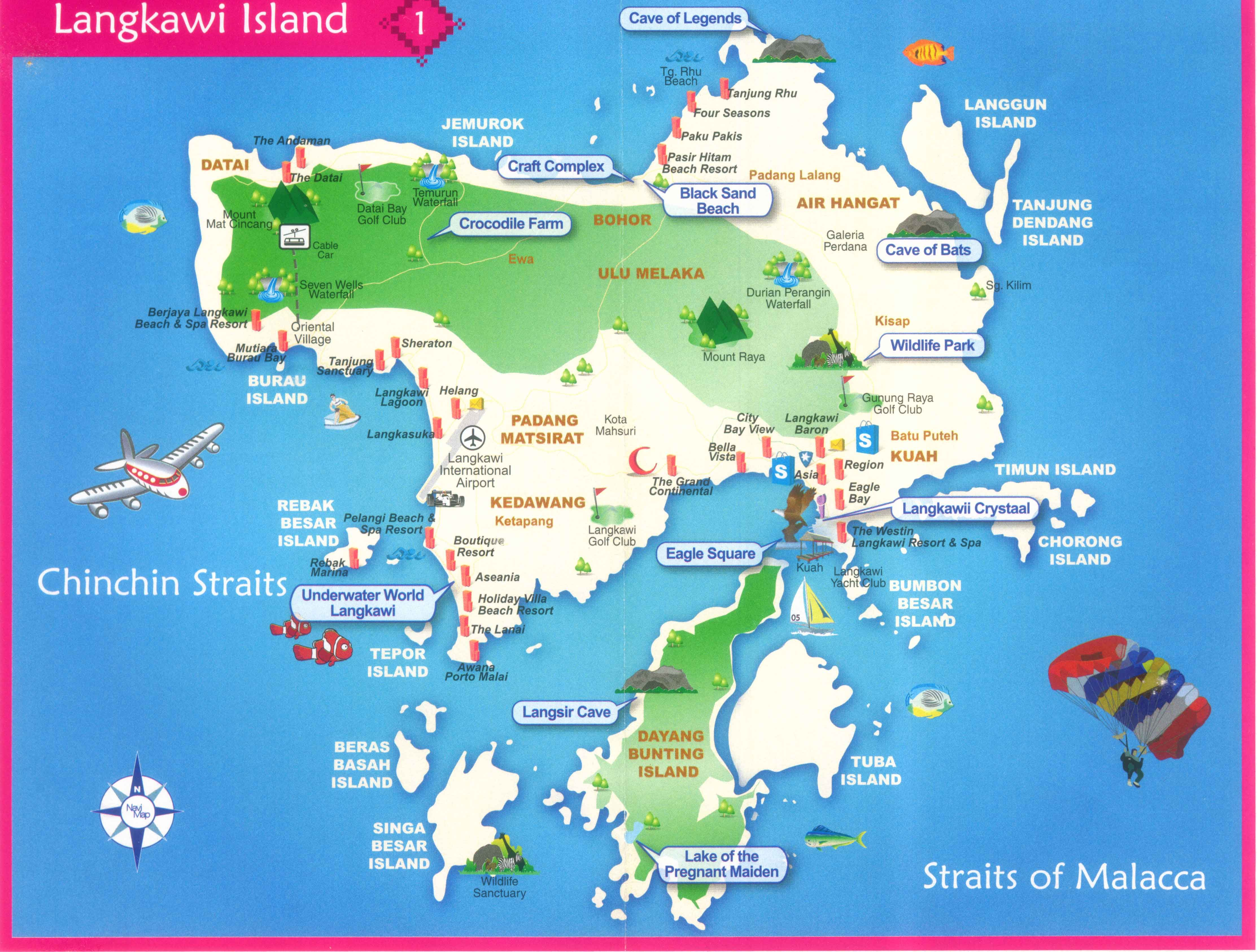 langkawi-map-1.jpg ٤٤٥٢×٣٣٧٢ pixels | ✈️l | Pinterest | Malaysia ...