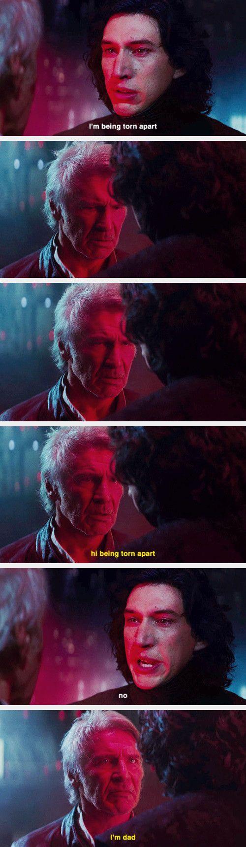 Harrison Ford S Injury During Star Wars The Force Awakens Saved It Star Wars Humor Star Wars Memes Star Wars