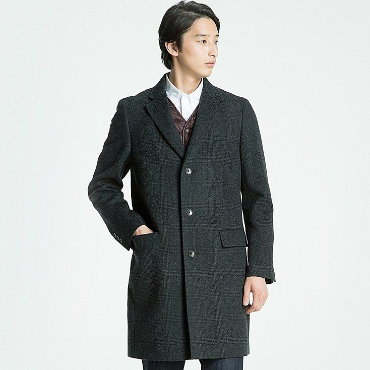 Men wool cashmere chesterfield coat | Chesterfield, Wool and Cashmere