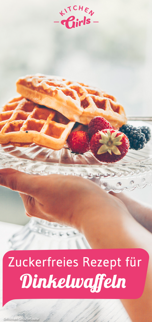 Photo of Recipe: Sugar-free waffles with spelled: kitchengirls.de / …