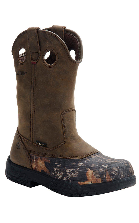 Shop Men's Western Work Boots | Free