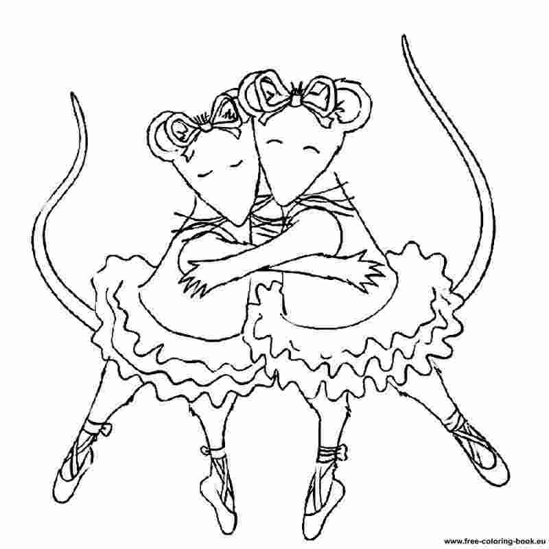 Angelina Ballerina Coloring Pages Free In 2020 Ballerina Coloring Pages Dance Coloring Pages Angelina Ballerina