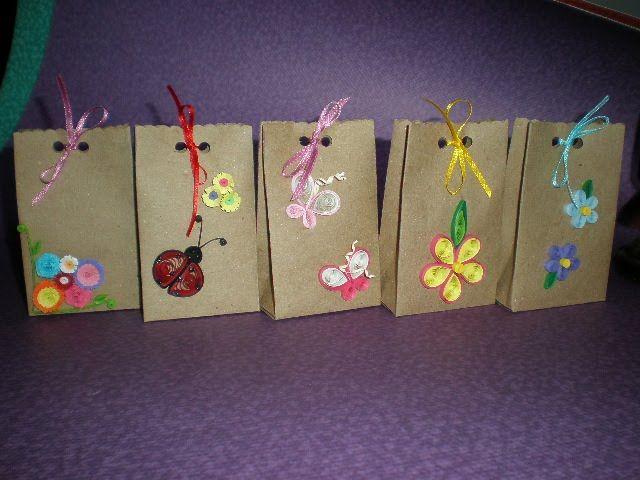 Como hacer una bolsa de regalo paso a paso buscar con - Manualidades decoracion infantil ...