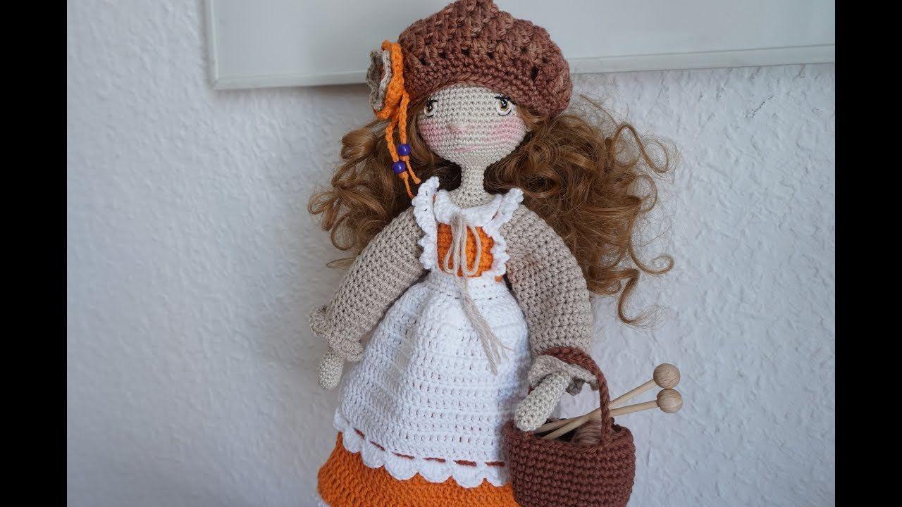 How to Crochet a Realistic Doll Part 1 | Amigurumi doll, Crochet ... | 720x1280