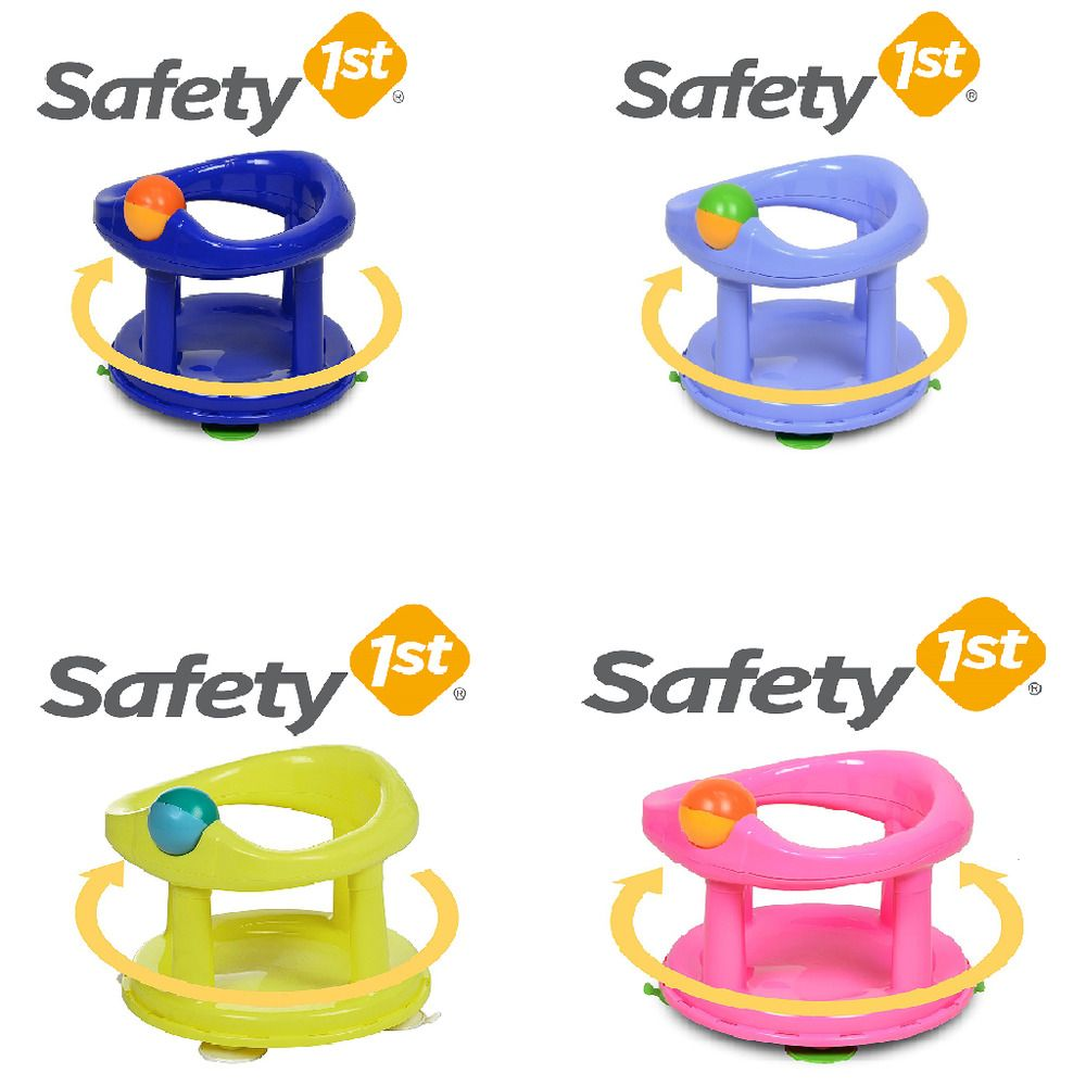 Safety First Swivel Baby Bath Tub Rotating Safety 1st Ring