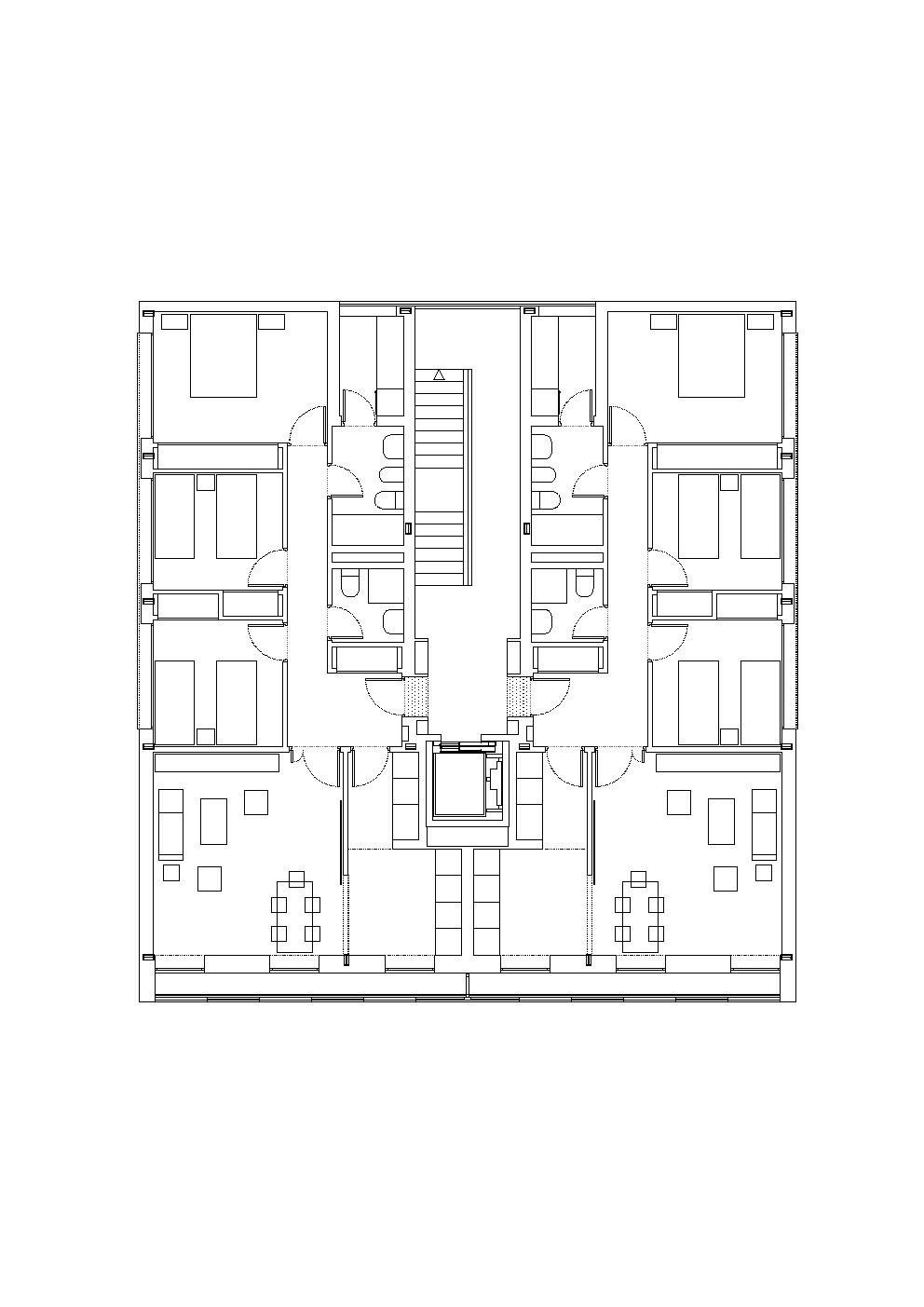 Gallery Of Social Housing Burgos Garrido Arquitectos 13 Social Housing Floor Plan Drawing How To Plan