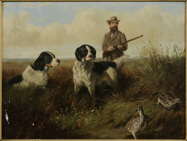 dog painting from wasp 101