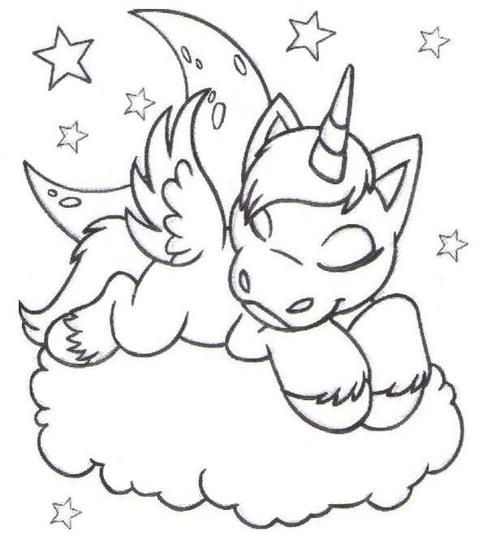 Desenhos Fofos Tumblr Pesquisa Google Unicorn Coloring Pages Animal Coloring Pages Cute Coloring Pages