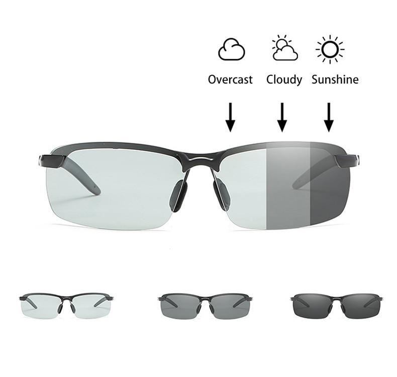 Men/'s Women Polarized Sunglasses Windproof Metal Police Glasses Driving Eyewear
