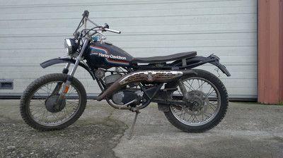 Harley Davidson 125 Sx Amf Harley Harley Dirt Bike Harley Davidson