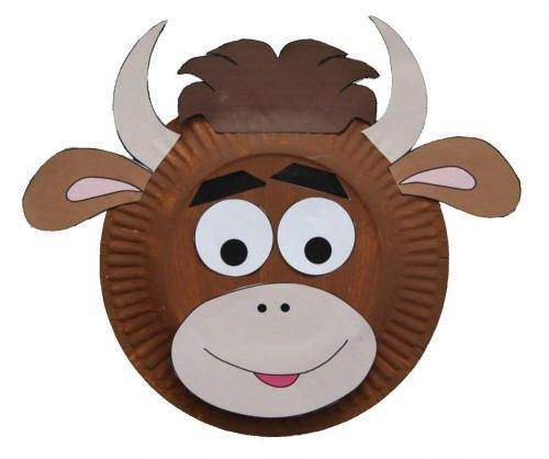 Paper Plate Cow Craft Could Use For Year Of The Ox Except I D