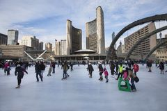 Toronto City Hall Or New City Hall. Skating Rink Canada - Download From Over 50 Million High Quality Stock Photos, Images, Vectors. Sign up for FREE today. Image: 64528930